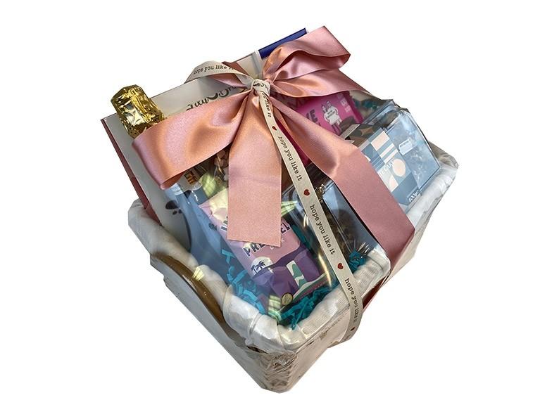 Sparkling Chocolate Eruption Gift Basket Delivered