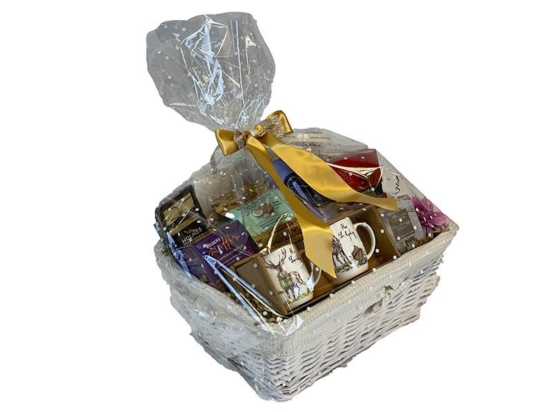 Silver Anniversary Gift Basket Delivered
