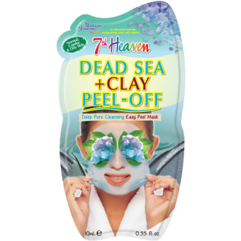 Dead Sea + Clay Easy Peel - Off Face Mask by 7th Heaven