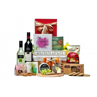 Age Improves With Wine Gift Basket