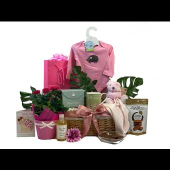Blooming Mummy & Baby Girl Gift Basket