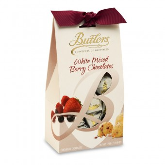 Butlers White Mixed Berry Chocolates 170g.