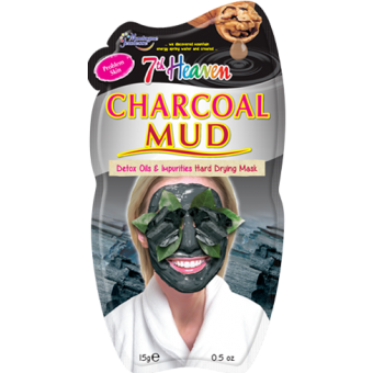 Charcoal Mud Detox Hard Drying Mask for her by 7th Heaven