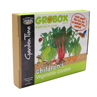 Grobox Children's Vegetable Garden