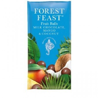 Forest Feast Chocolate Mango and Coconut Fruit Balls 30g