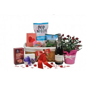 Classic Love Rose Gift Basket