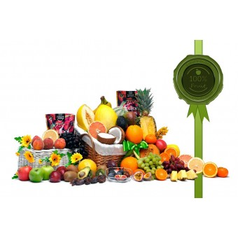 Mega Classic Fruit Gift Basket