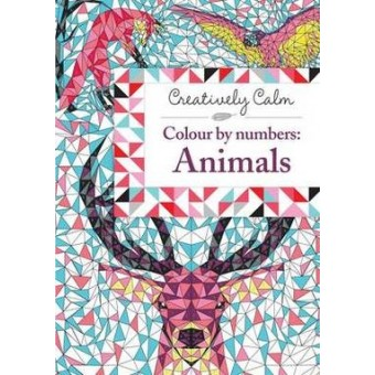 Creatively Calm: Colour By Numbers: Animals