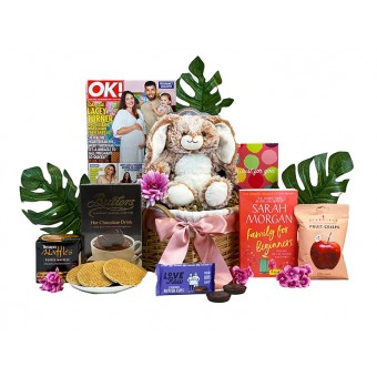 Cozy Cuddles Gift Basket