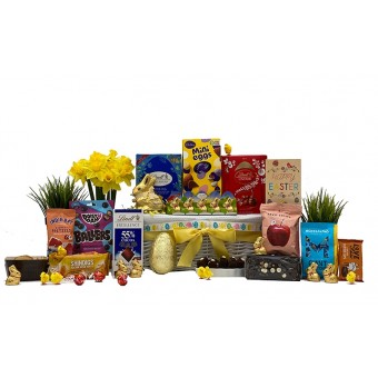 Easter Chocolate Eggstravagance Gift Basket