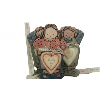 Potty Lady Wooden Age Plaque