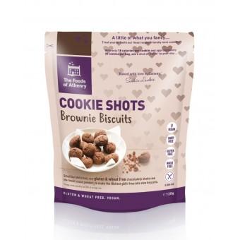 Cookie Shot Brownies (Gluten, Wheat & Dairy Free)