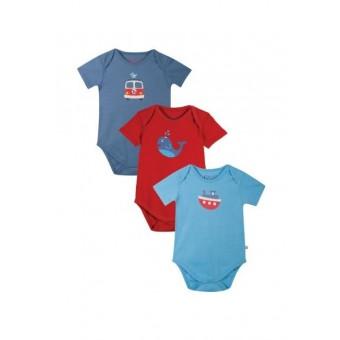 Frugi Organic Baby Boy Bodysuit