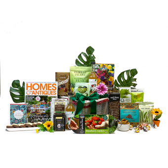Women's Gardening Birthday Gift Basket