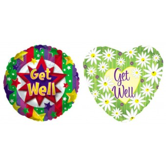 Adult's Get Well Balloons