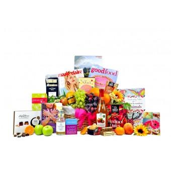 Get Well Fruit Survival Gift Basket For Her