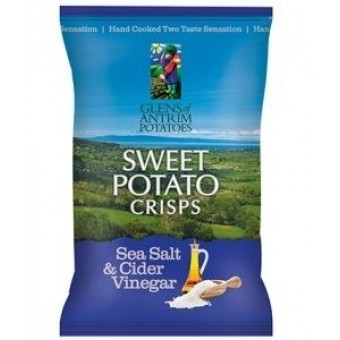 Sea Salt & Cider Vinegar Sweet Potato Crisps