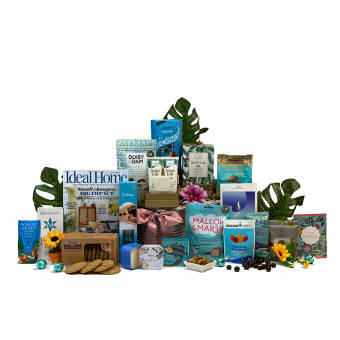 Women's Home Comfort Birthday Gift Basket