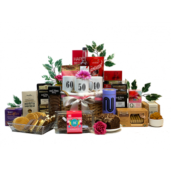 Lady's Birthday Milestone Fancy Pantry Hamper