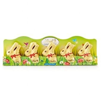Lindt Mini Gold Bunny Milk 5 Pack 50g