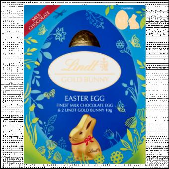 Lindt Lindor Gold Bunny Easter Egg 115g