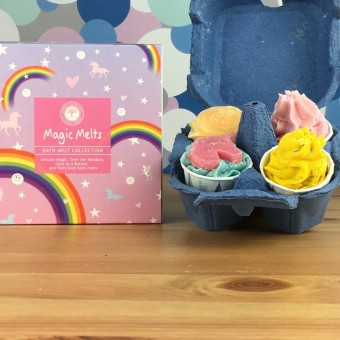 Magic Bath Melts Gift Set by Wild Olive