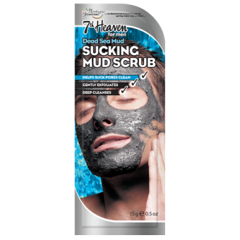 Sucking Mud Scrub for men by 7th Heaven