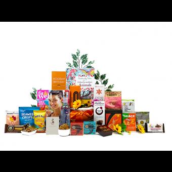Women's Mindfulness Birthday Gift Basket