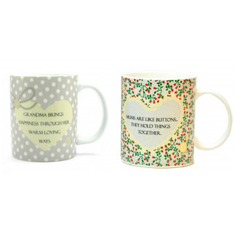 Sentiments from the Heart Gift Mug