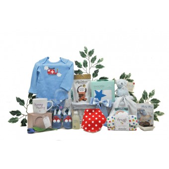 Must Have Mummy & Baby Boy Hamper