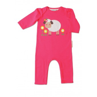 """Playsuit """"Sheila The Sheep"""" by Olive and Moss"""