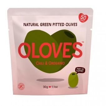 Oloves (Chilli and Oregano)
