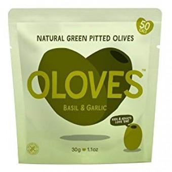 Oloves (Basil and Garlic)