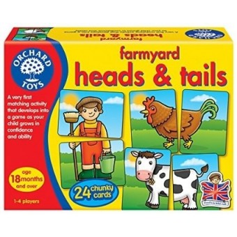 Farmyard Heads & Tails Game (18 mths +)