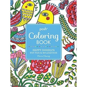 Happy Doddles By Posh Colouring Book