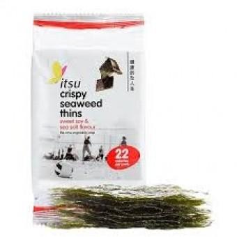 Itsu Crispy Seaweed Thins (Sweet Soy & Sea Salt)