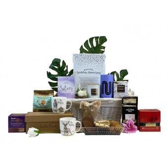 Silver Anniversary Gift Basket