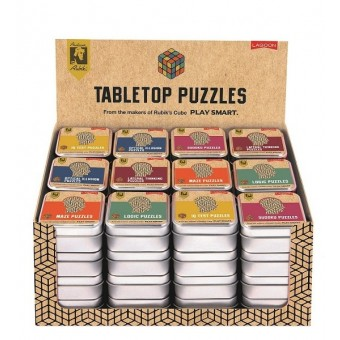 Mini Puzzles in a tin by Lagoon Games