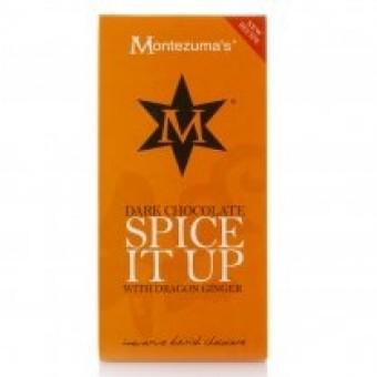 Montezuma Innovative British Spice it up Chocolate Bar 100g
