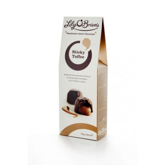 Lily O Brien Sticky Toffee Pouch 110g