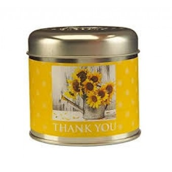 Thank You Candle Tin By Wax Lyrical