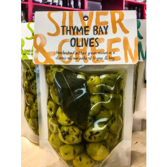 Thyme Bay Olives by Silver and Green
