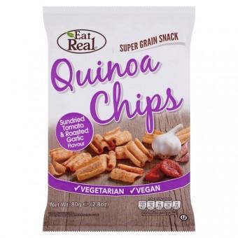 Eat Real Quinoa Chips (Sundried Tomato & Roasted Garlic)
