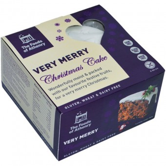 Very Merry Christmas Cake (Gluten Free) by Foods of Athenry 600g