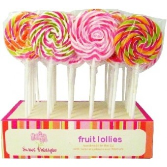 Sweet Boutique Fruit Whirligig Lolly