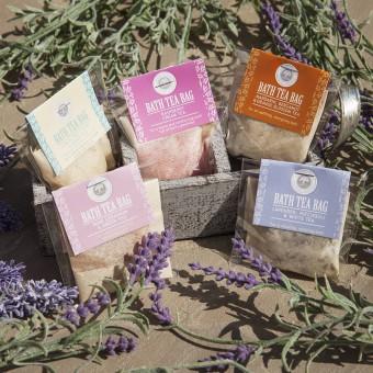 Bath Salt Tea Bag by Wild Olive