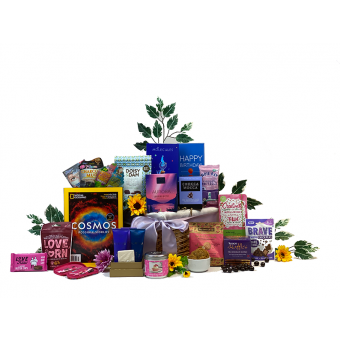 Women's General Knowledge Birthday Gift Basket