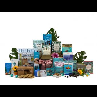 Women's Home Comfort Birthday Gift Basket